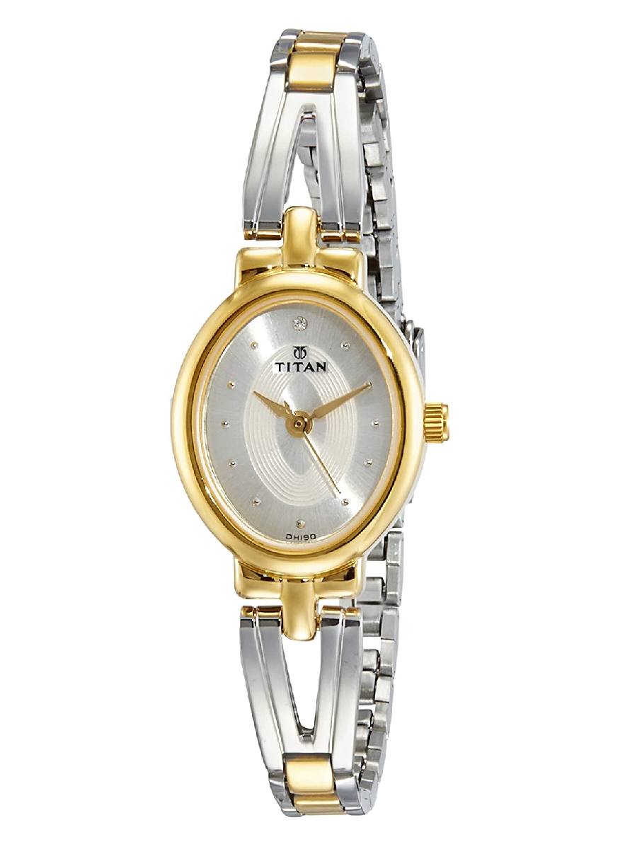 Titan Karishma Revive Analog Silver Dial Women's Watch