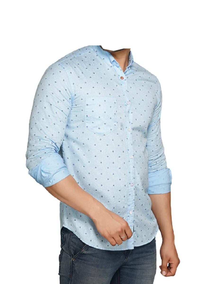 VASTR Printed Casual Cotton Shirts for Men